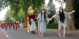 Inkorting processieroute valt goed