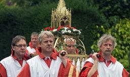 Schrijndragers vieren lustrum in Hoogstraten