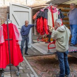 Nieuw onderkomen processie op Duinendaal